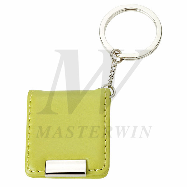 Leather/Metal Keyholder with Photo Frame_64779-03