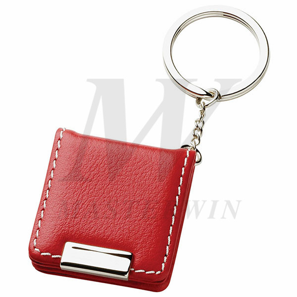Leather/Metal Keyholder with Photo Frame_64779-01