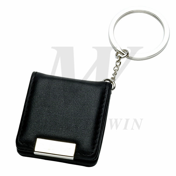 Leather/Metal Keyholder with Photo Frame_64779-04