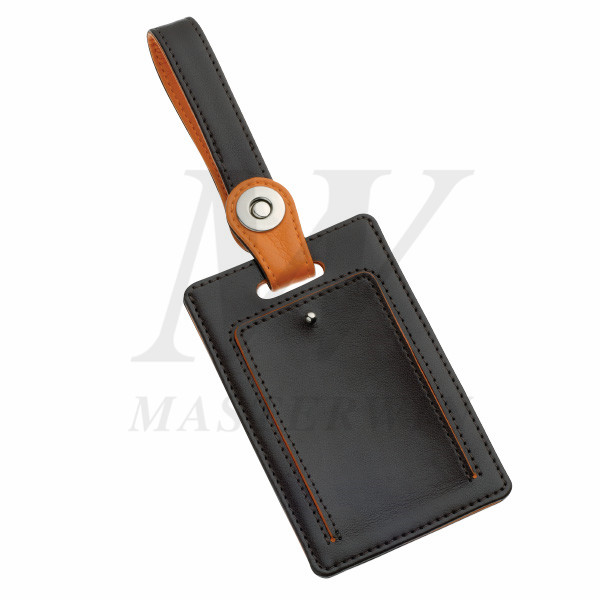 Metal/PU Luggage Tag_B86578
