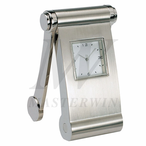 Metal Desk Quartz Clock_85268-01