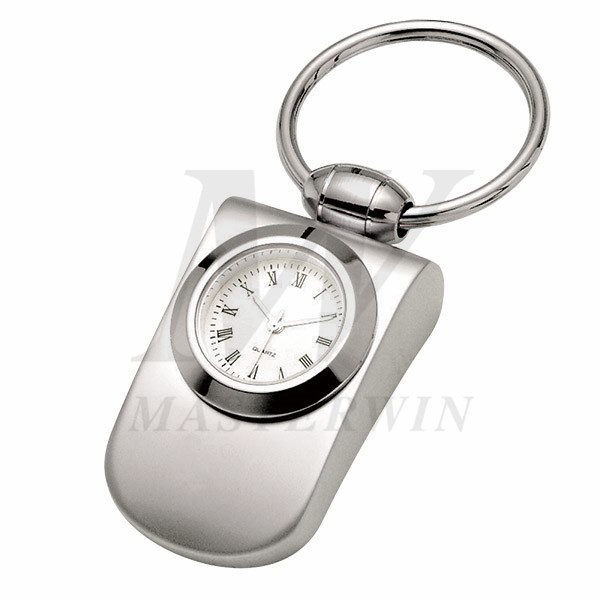 Metal Keyholder with Quartz Clock_61268