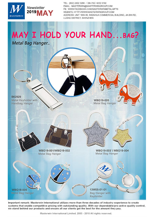 May I hold your hand…bag?